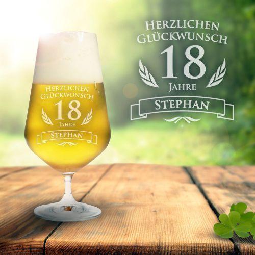 Bierglas Zum 18 Geburtstag Geschenke Zum 18 Geburtstag Pinterest