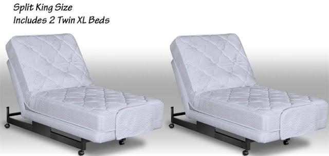 Adjustable Split King Beds 2 Twin ExtraLong Size Beds