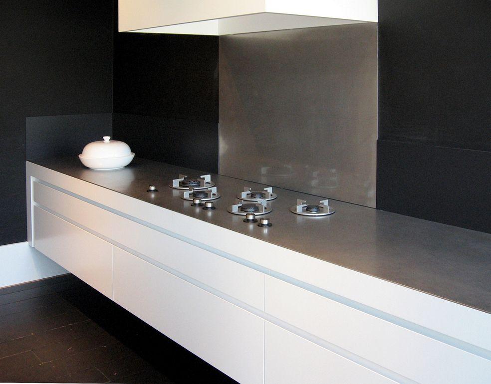 ABK InnoVent   i-Cooking gasbranders in 4 mm RVS werkblad - Product in beeld - - De beste keuken ideeën   UW-keuken.nl