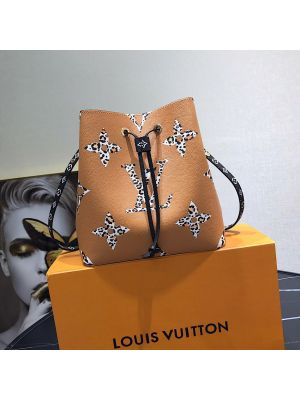 Louis Vuitton LV NeoNoe M44679 Jungle Capsule Caramel #louisvuittonhandbags