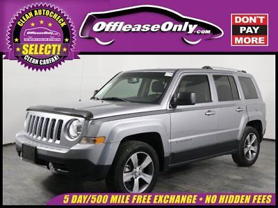 Ebay Patriot High Alude Off Lease Only 2017 Jeep 4 Cylinder Engine 2 0l 122 Jeeplife