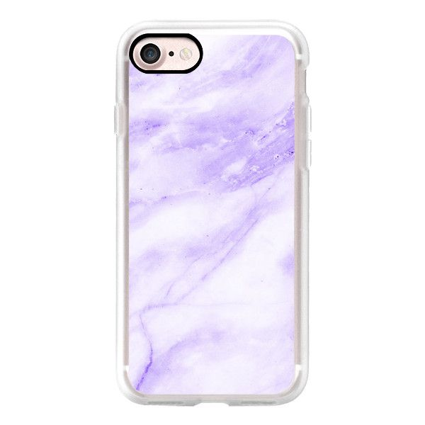 Purple Marble - iPhone 7 Case, iPhone 7 Plus Case, iPhone 7 Cover,... (53 AUD) ❤ liked on Polyvore featuring accessories, tech accessories, iphone case, iphone cover case, purple iphone case, iphone cases, slim iphone case and apple iphone case