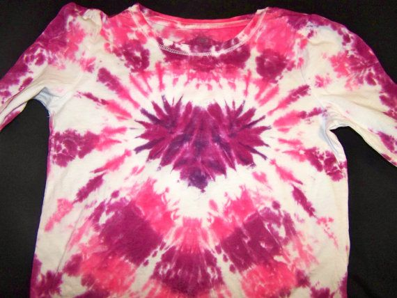 Ready to ship youth small Valentine's Day Tie Dye by ShannasTieDye, $17.00
