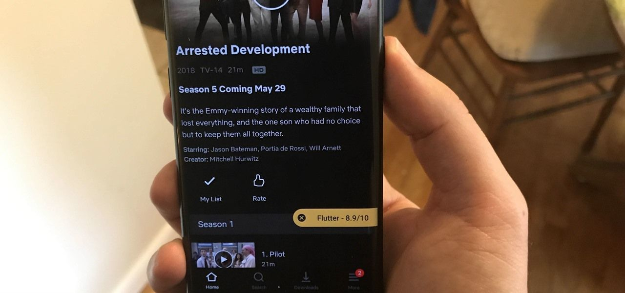 How to Get IMDb Ratings in the Netflix App for Android