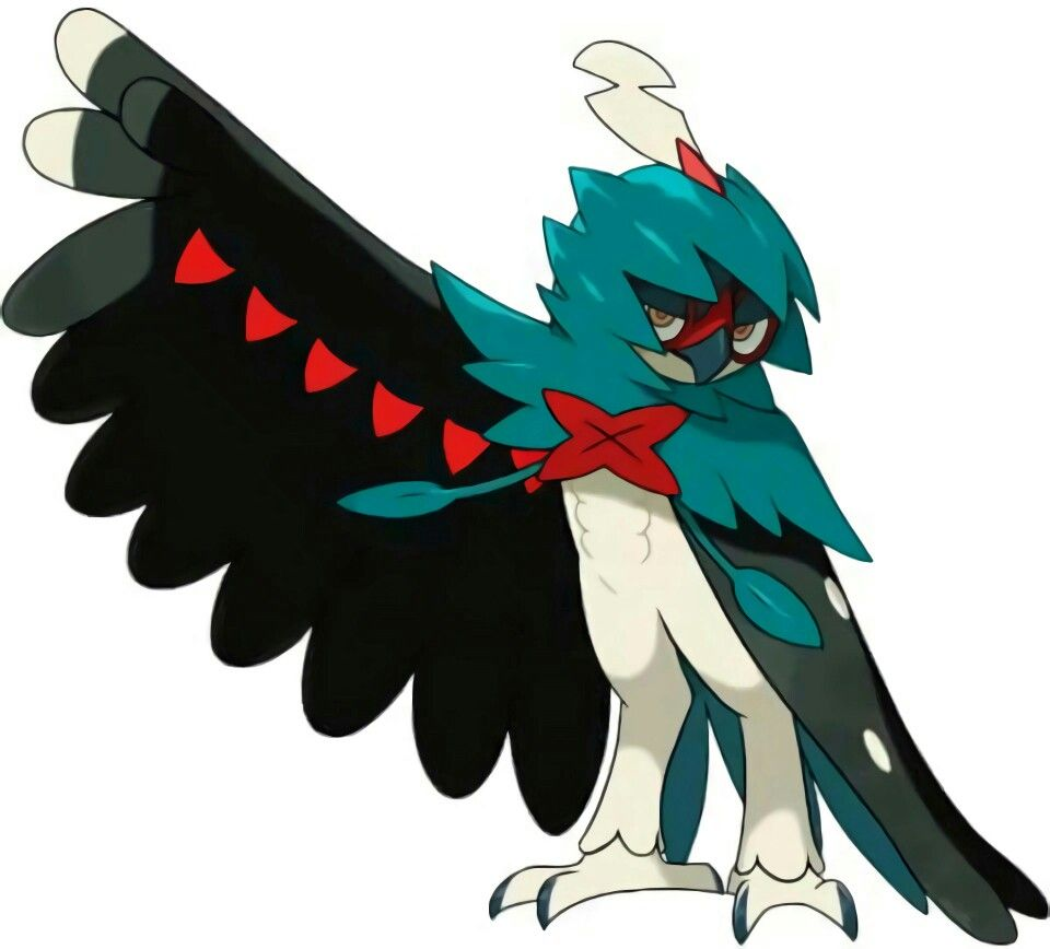 Shiny Decidueye Pokemon Drawings Shiny Decidueye Pokemon