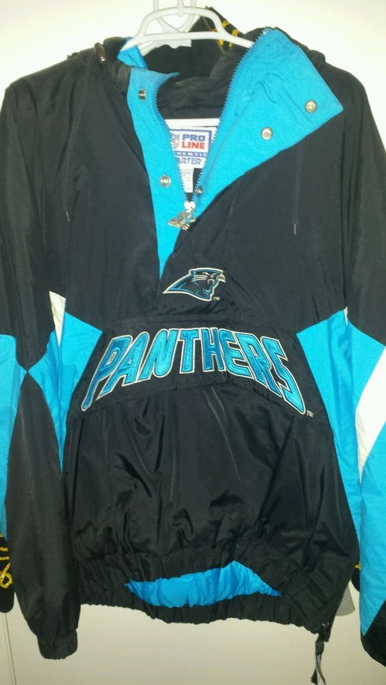 quality design 09213 8283f Details about Vintage Carolina Panthers Crewneck Sweatshirt ...