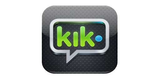 Pin By Daejah On Logos Startups Kik Messenger Messaging App Instant Messaging