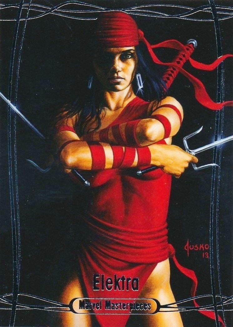 Daredevil 1992 Marvel Masterpieces Base Card 12 Jusko