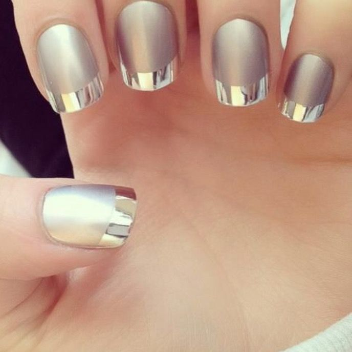 Explore Metallic Nails Silver Nailore