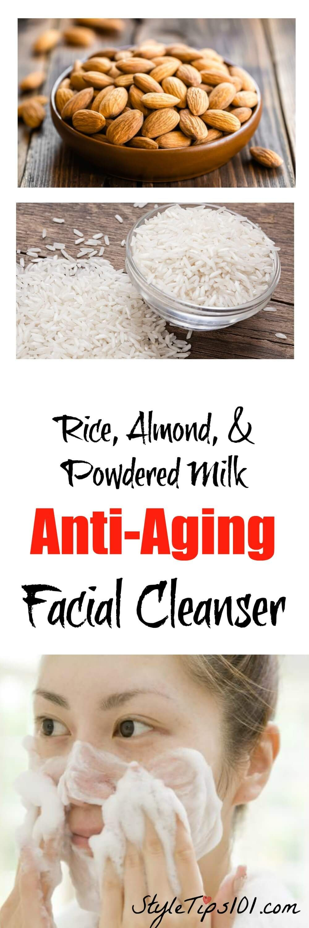 Homemade AntiAging Facial Cleanser For Dry Skin  Facial cleansers