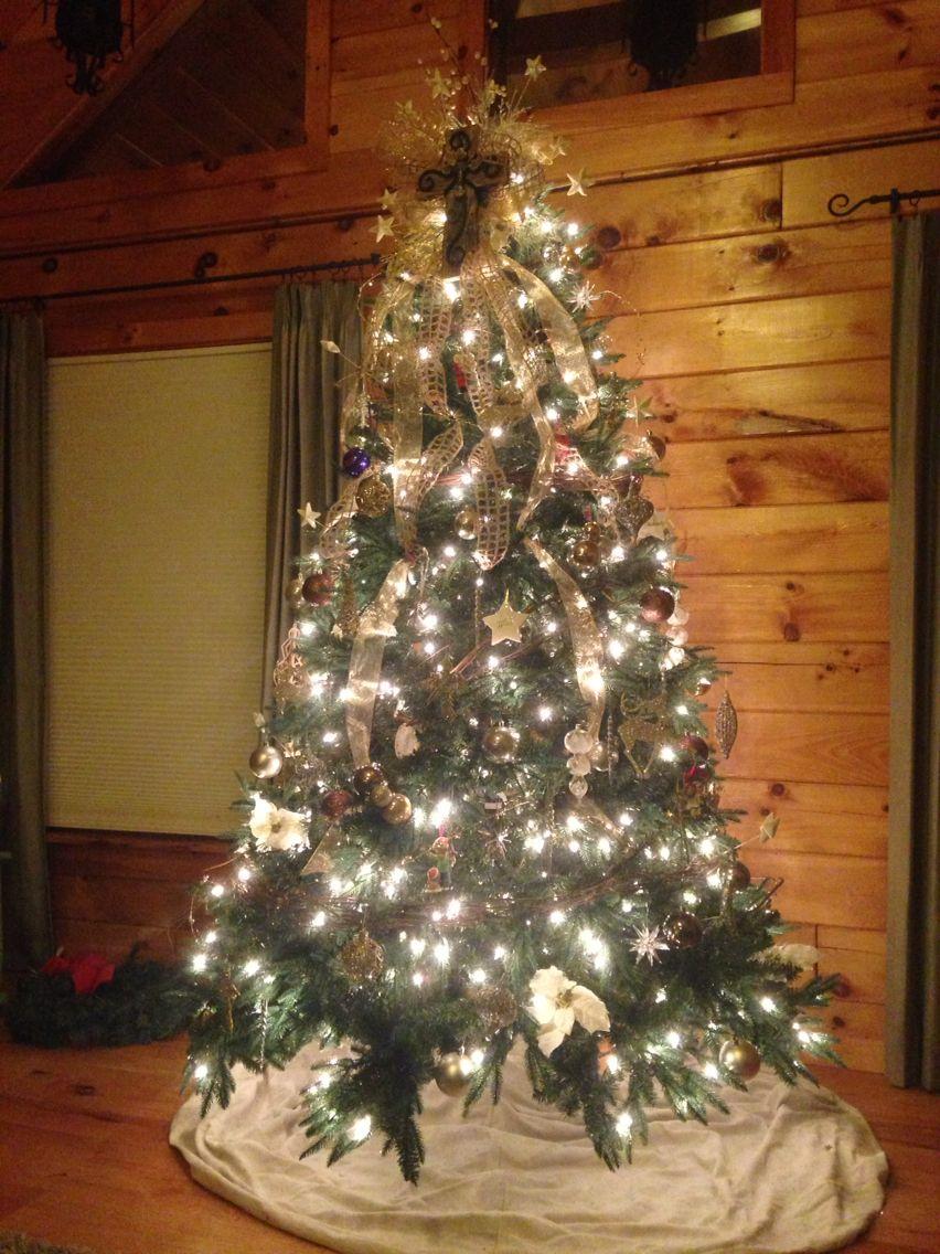 Cross tree topper, rustic tree | Cross christmas tree ...