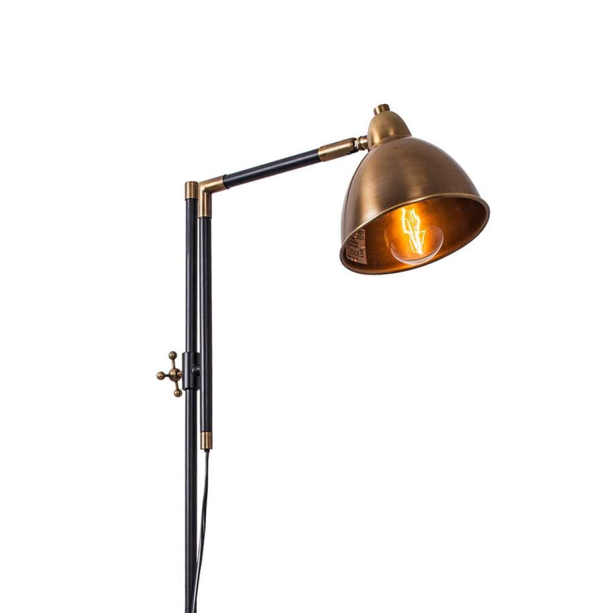 Stehlampe Brauner Schirm Stehlampe Mit Mehreren Schirmen