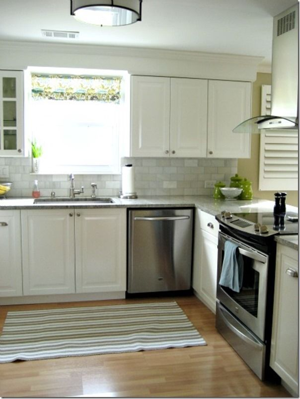 Trim above kitchen cabinets #color #decorating above kitchen cabinets ideas tips #Feature #Friday #Home #Hospitality #Involving #Southern