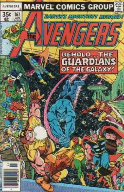 Avengers 167 Guardians Of The Galaxy Bronze Age Marvel Comics Group Marvel Comics Covers Marvel Comic Books Marvel Comics