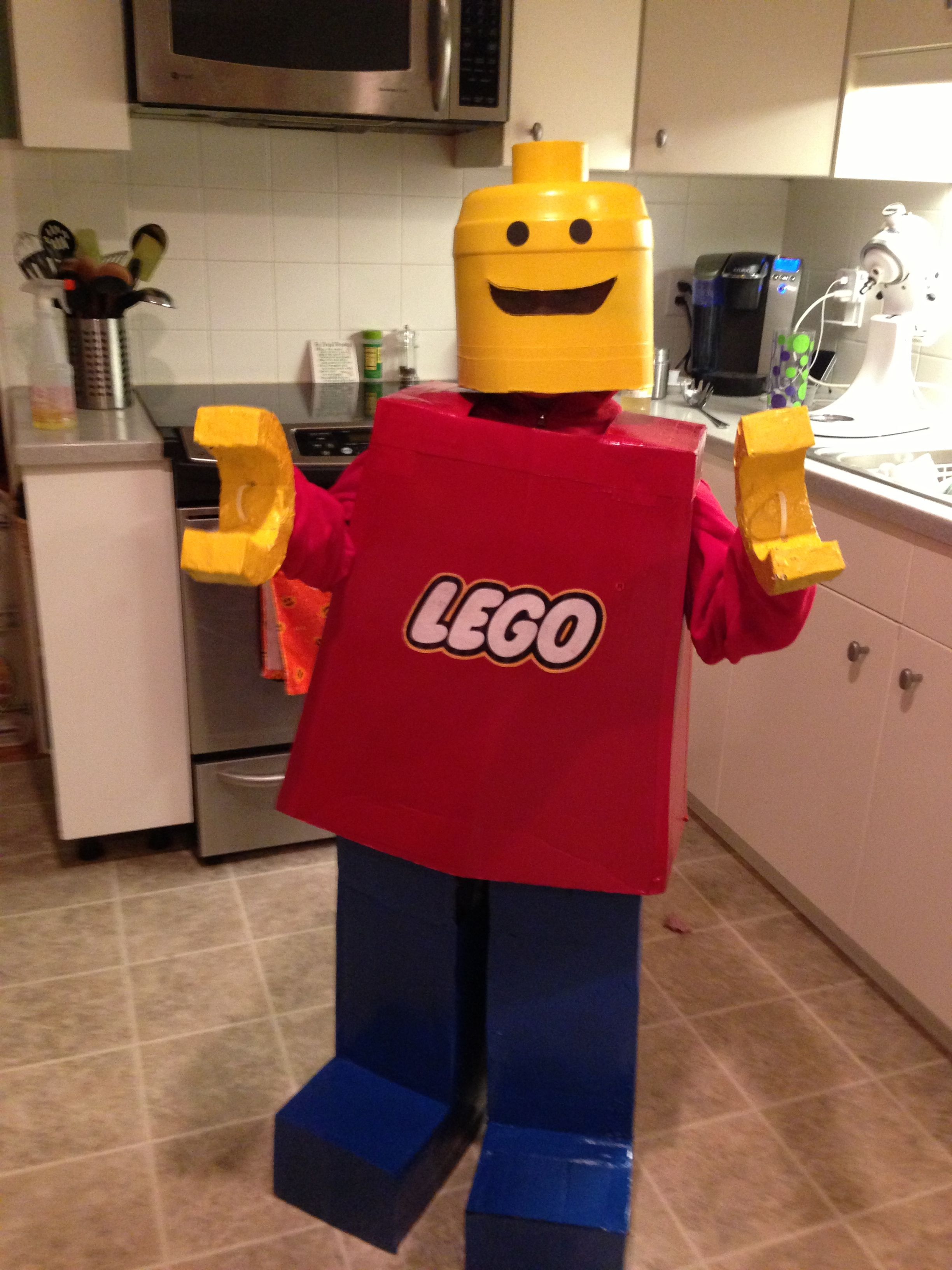 Lego Man Halloween Costume.Lego Man Halloween Costume Aimee Whorms For Mother Of The