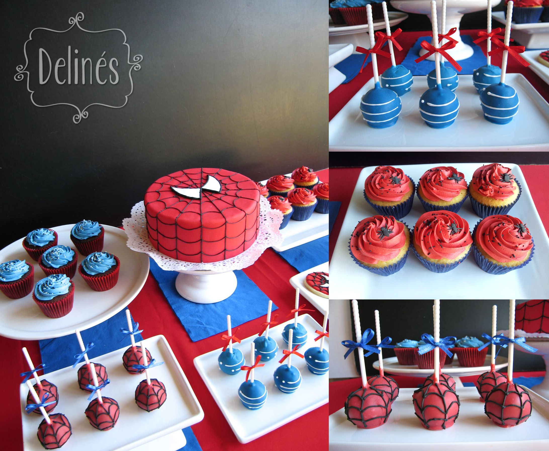 Spiderman cumple santi pinterest ara as hombre - Decoracion de aranas ...