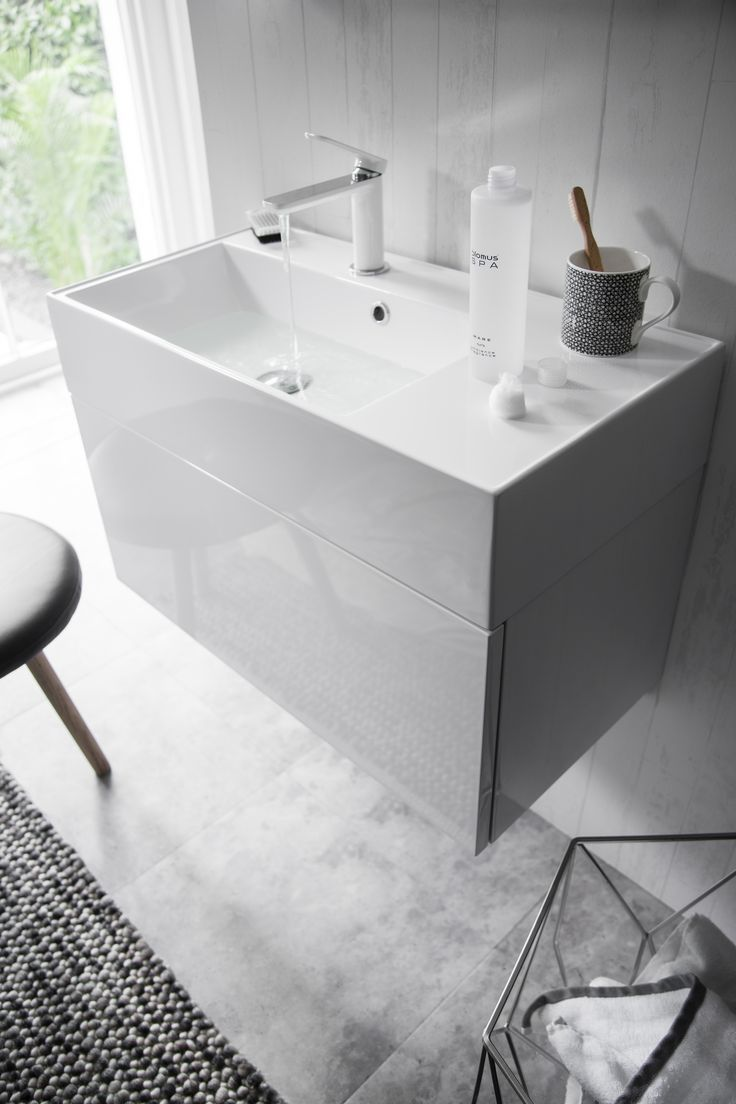 Make a striking statement to enhance any basin or vanity