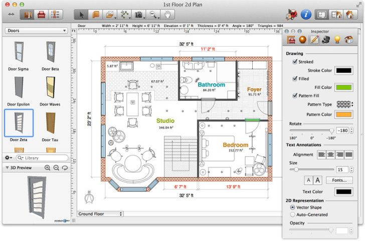 Accessories The Lush Many Choices With A Simple Grey Domination Application Floor Plan Software Mac Screenshot Floor Plan Software Mac A Interior Design Software Home Design Software Floor Plans