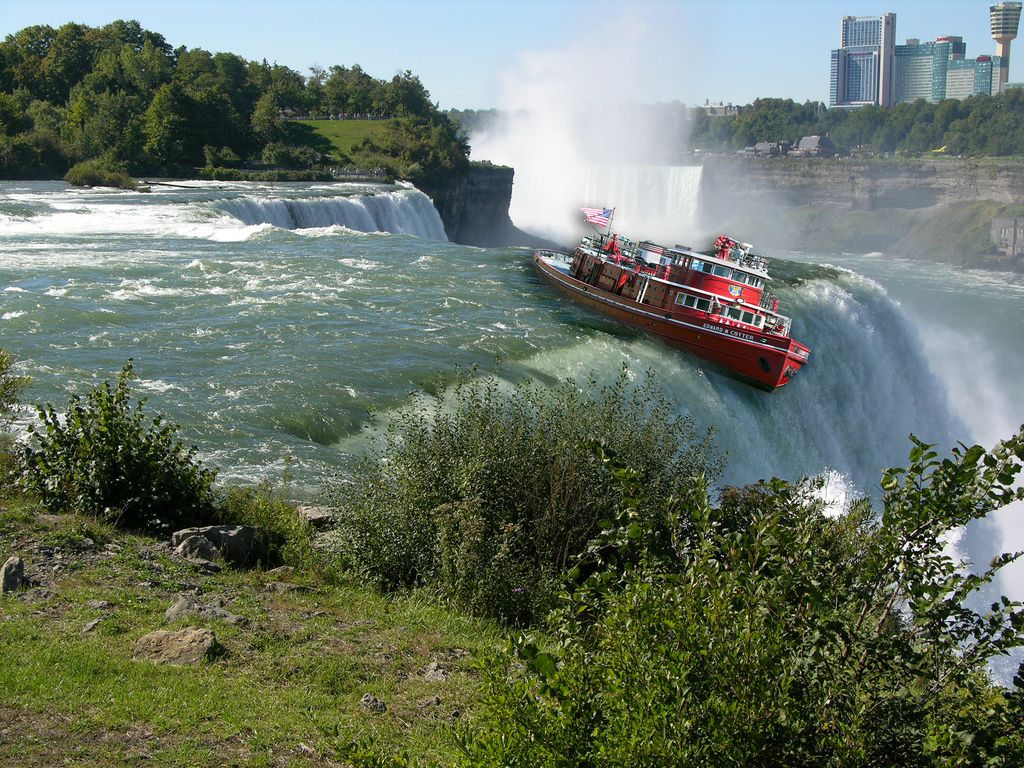 """TIL that in 1827 a """"pirate ship"""" filled with live animals was deliberately sent over Niagara Falls. George Santayana, Amazing Places On Earth, Live Animals, Mysterious Places, Ecology, North America, The Good Place, The Past, Boat"""