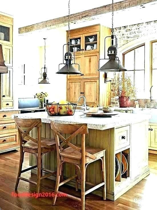 French Country Kitchen Lighting Fixtures Large Island