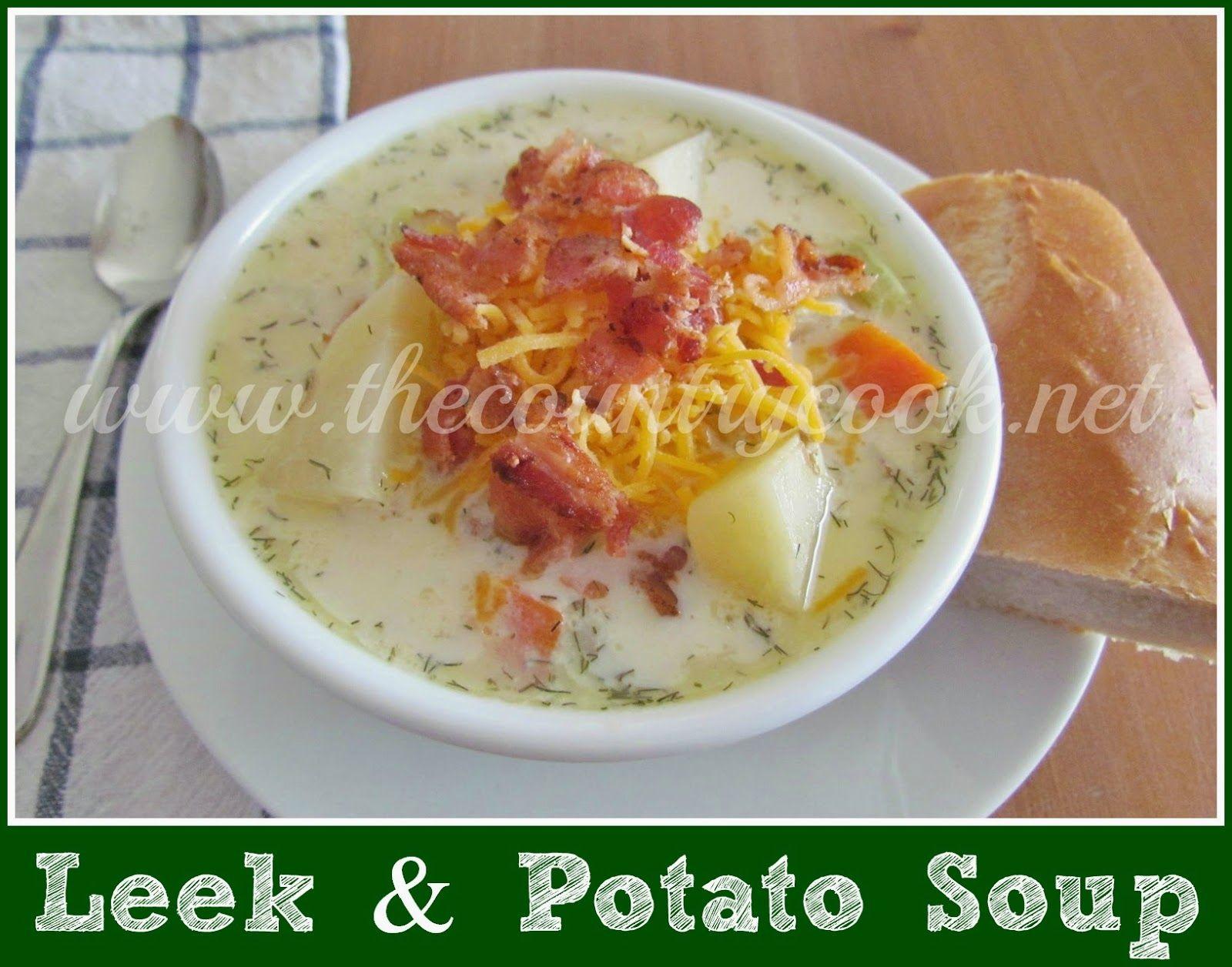 Crock pot leek and potato soup Recipe (With images