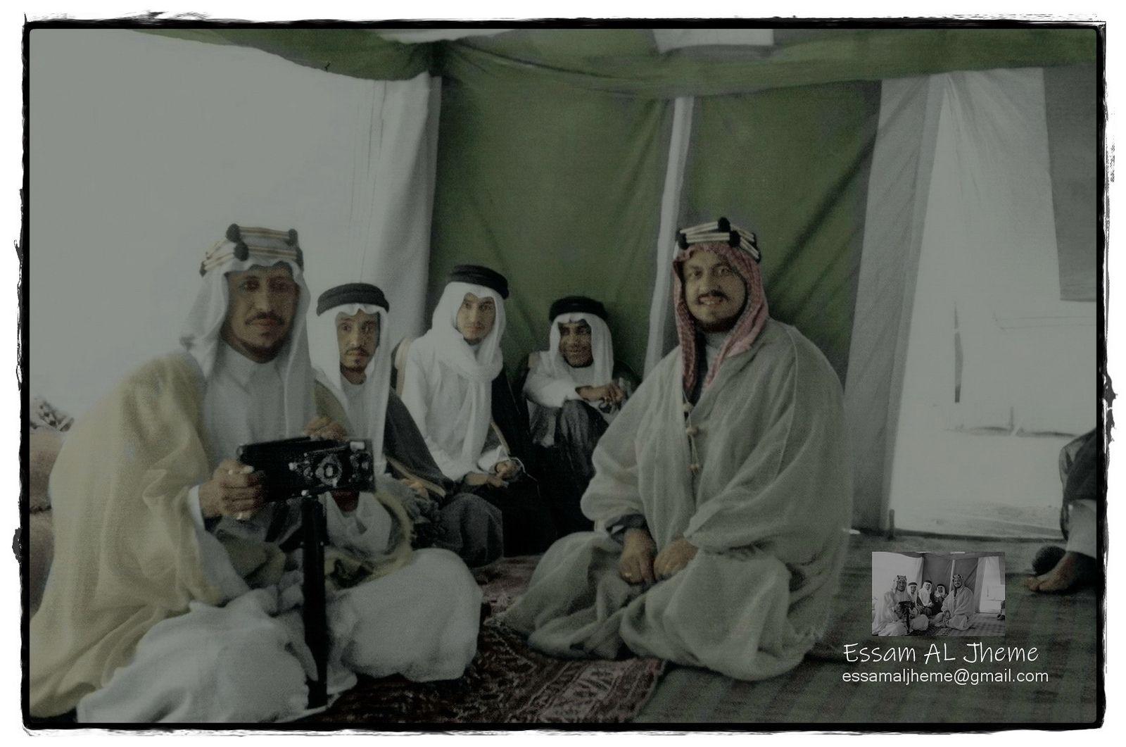 الملك سعود بن عبدالعزيز My Images Rare Pictures Black And White