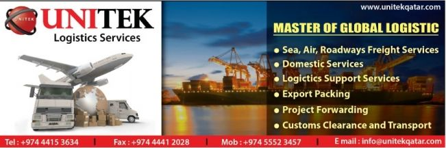Unitek Logistics is one of the prominent Freight Forwarders and Shipping Agents in Qatar. Our business philosophy is focused on service and technology. For more information: http://www.ezyqatar.com/business_details/MTc5OTg=