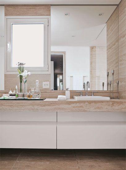 Um banheiro com muito luxo - Casa
