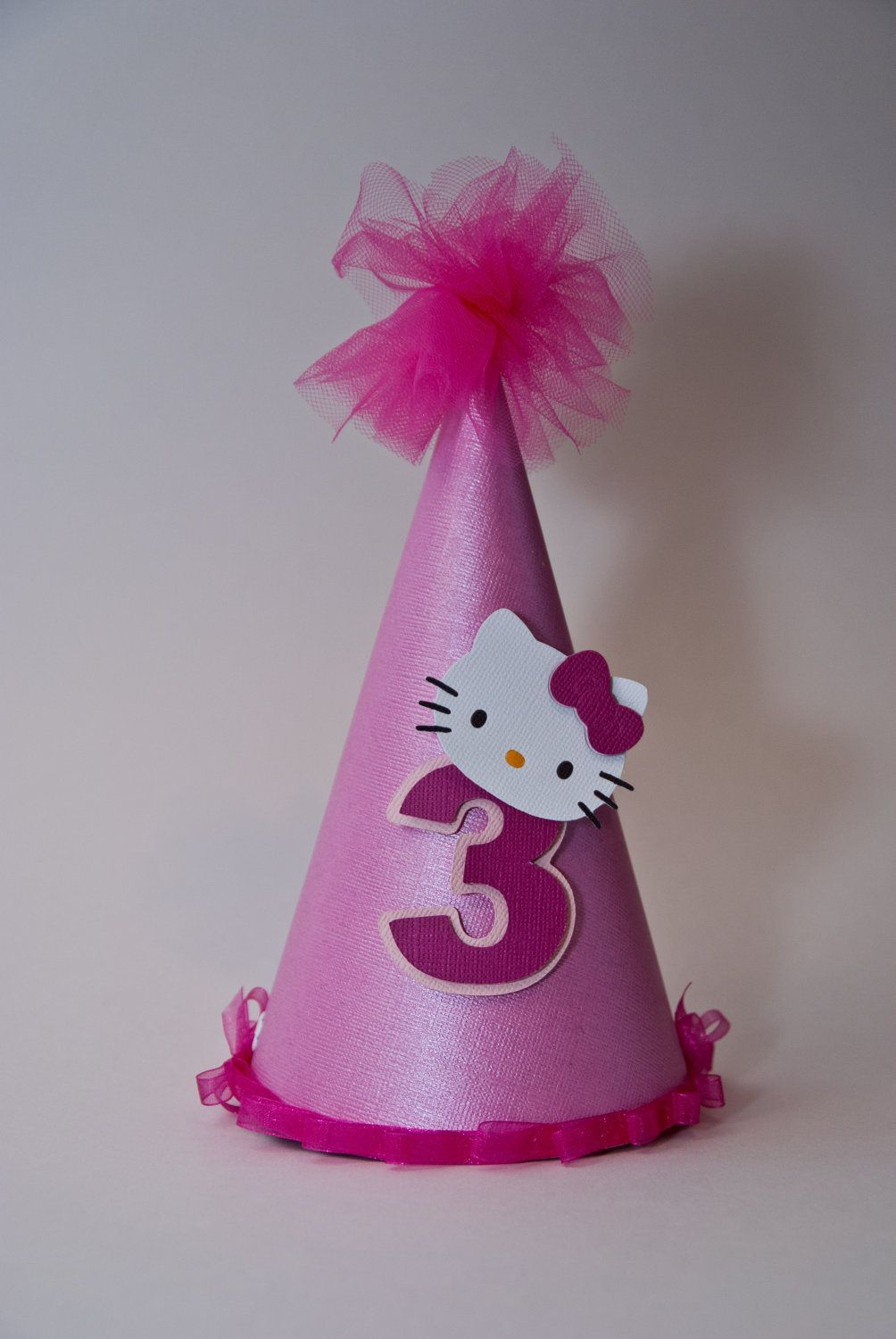18d80b2bc Hello Kitty Party Hat. $15.00, via Etsy. | Hello kitty in 2019 | Cat ...