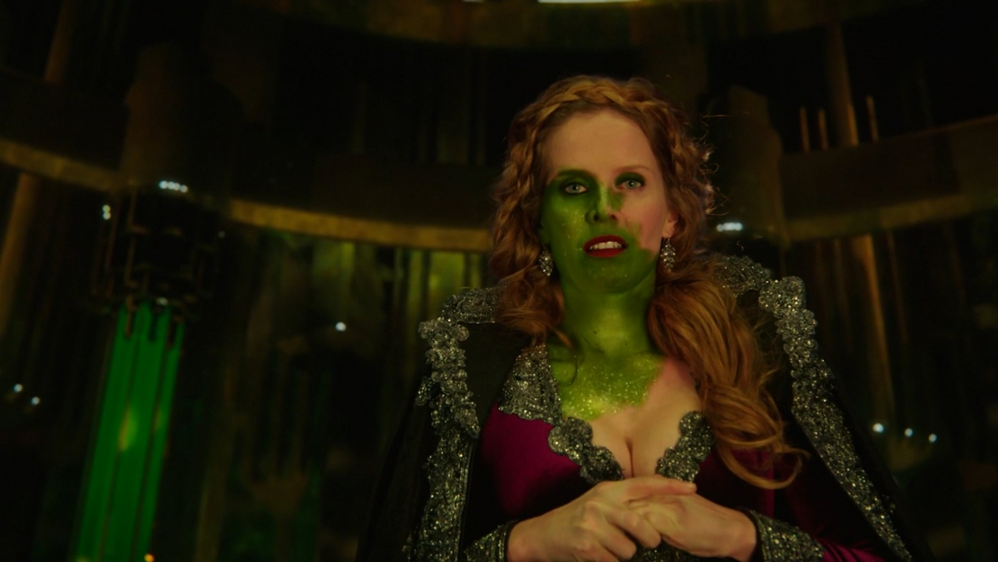Zelena's skin turning green | Once upon a time, Haloween ...