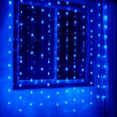 ¡Justo a Tiempo para los feriados! Esta Cadena de Luz LED con luces Decorativas color Azul  (5W 110V/220V) es una brillante y festiva manera de decorar y disfrutar desde una estación y ocasión a la siguiente.