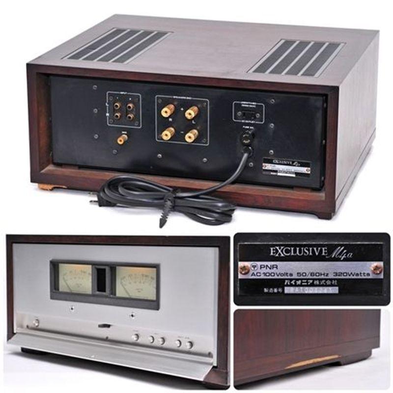 PIONEER EXCLUSIVE M4a Stereo Power Amplifier | Pioneer