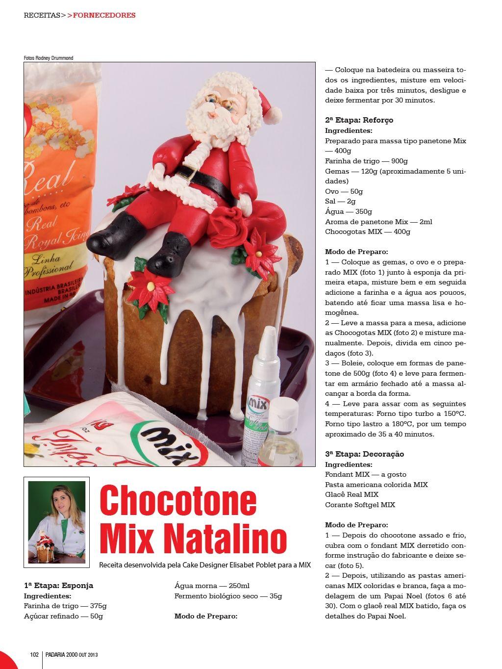Chocotone decorado 1