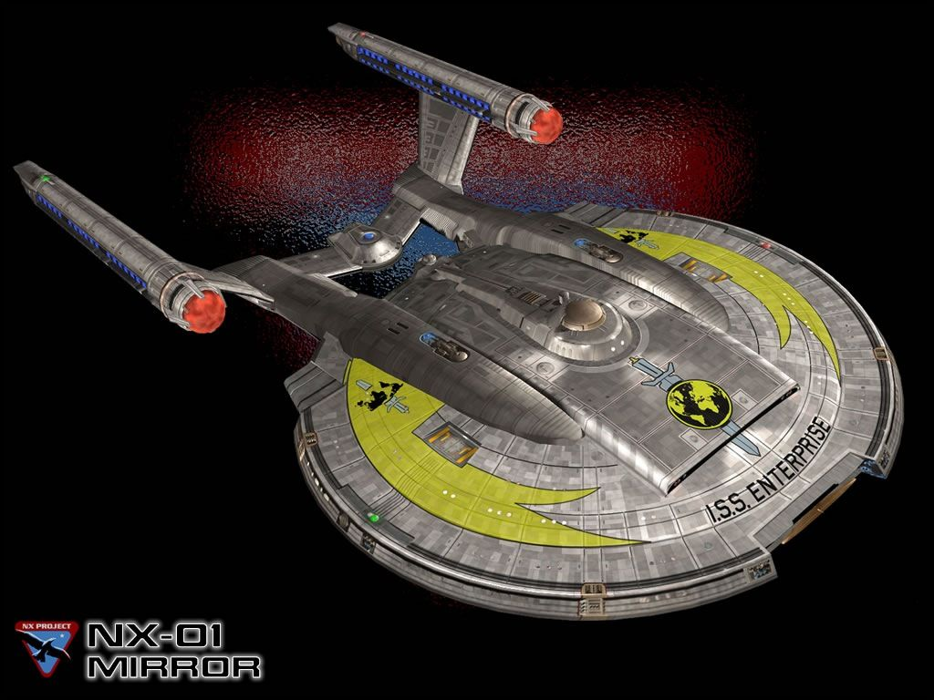 Iss Enterprise Mirror Universe Nx 01 Trekkin