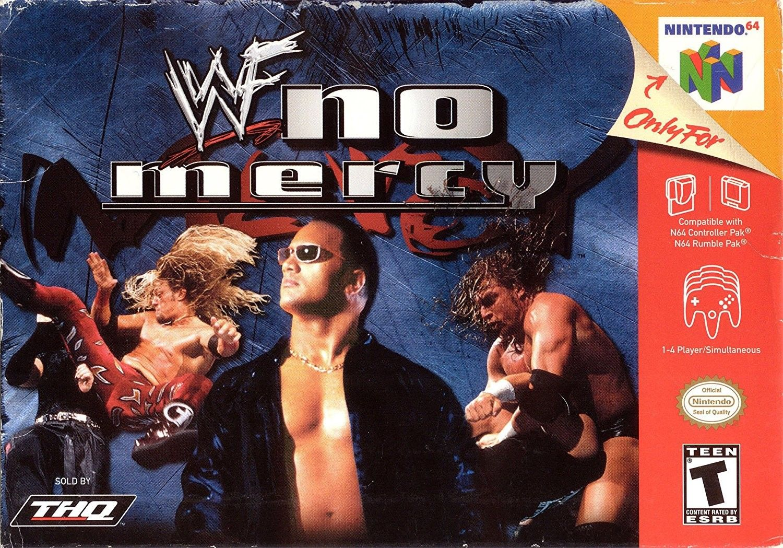 WWF No Mercy N64 Wwe game, N64, Wwf