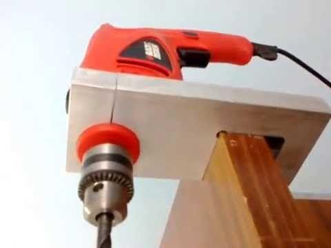 Adaptaci n de sierra circular para uso como sierra angular - Sierra para taladro ...