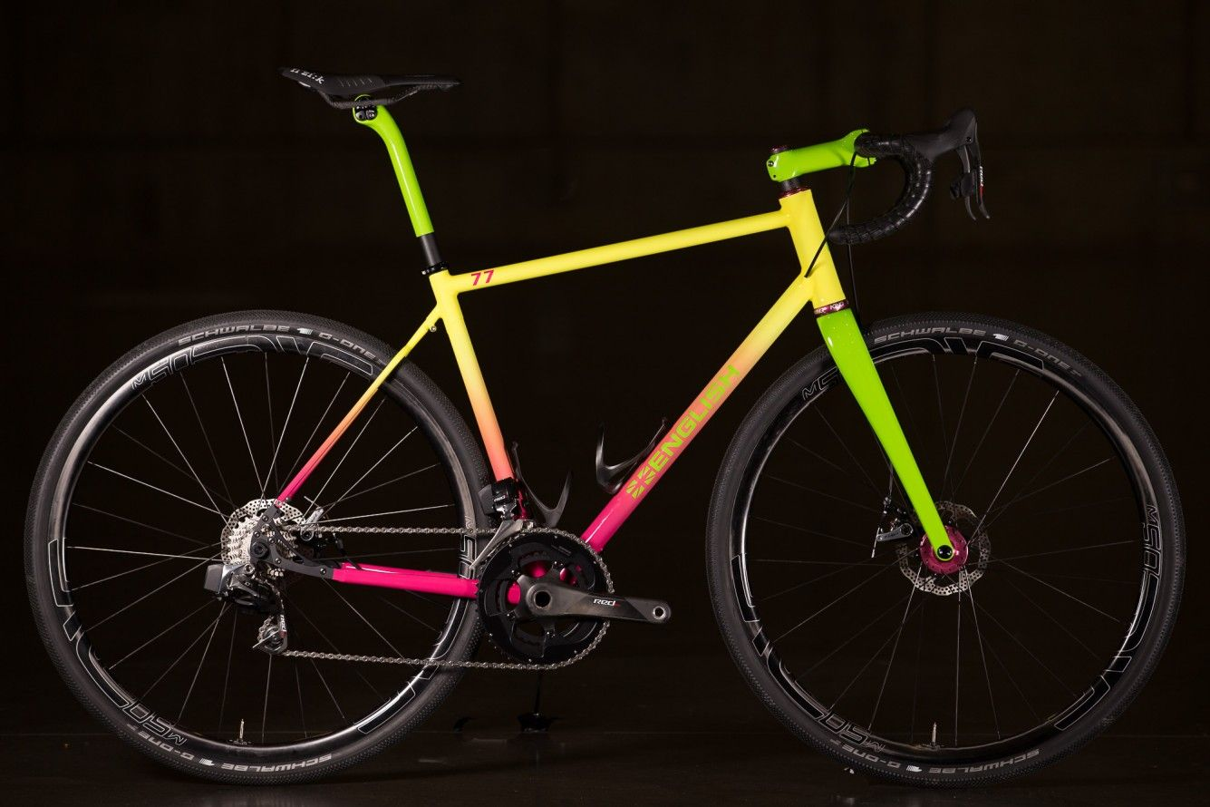 2016 Nahbs English Cycles Ombre Road With Sram Red Etap