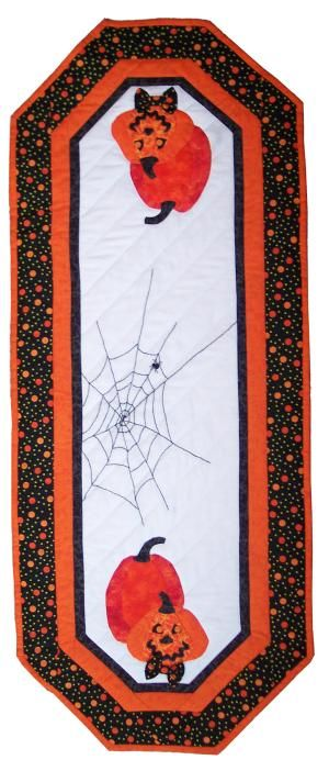 Jaunty Jacks Quilted Table Runner - Suzanne's Quilt Shop, Moultrie ... : suzannes quilt shop - Adamdwight.com