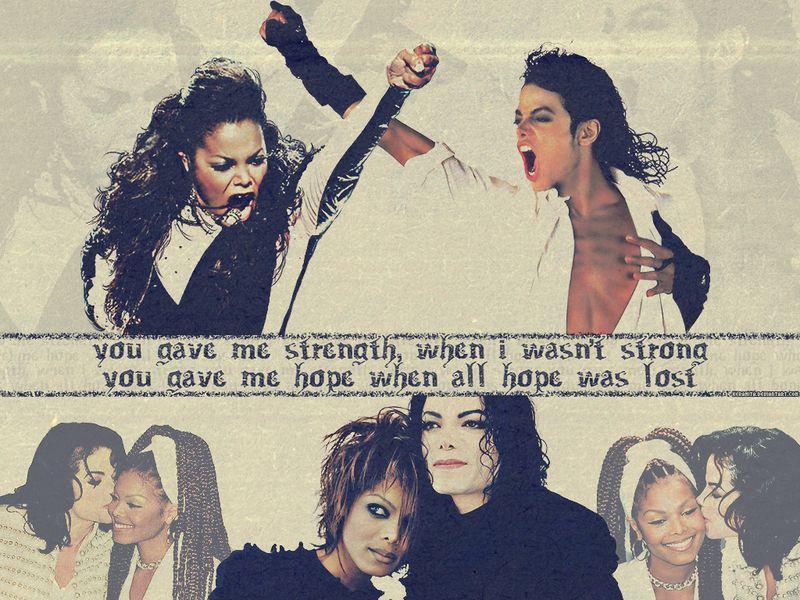 Michael & Janet Jackson... MY FAV!!!