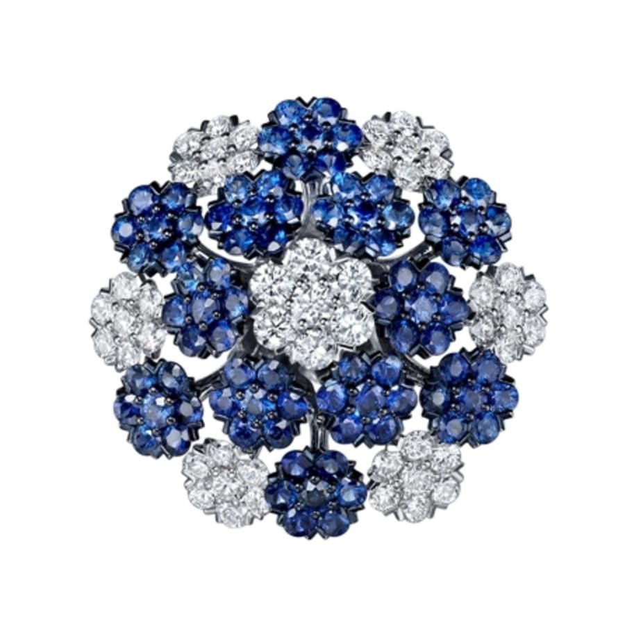 Tak fook sapphire and diamond in floral design luxify luxury