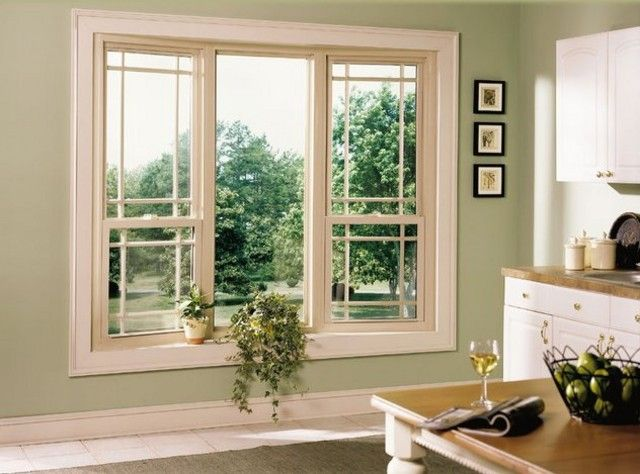 General Aluminum With Vinyl Tan Windows Simulated Divided Light On The Exterior Windows On Front Elev Interior Windows Window Trim Exterior Windows Exterior