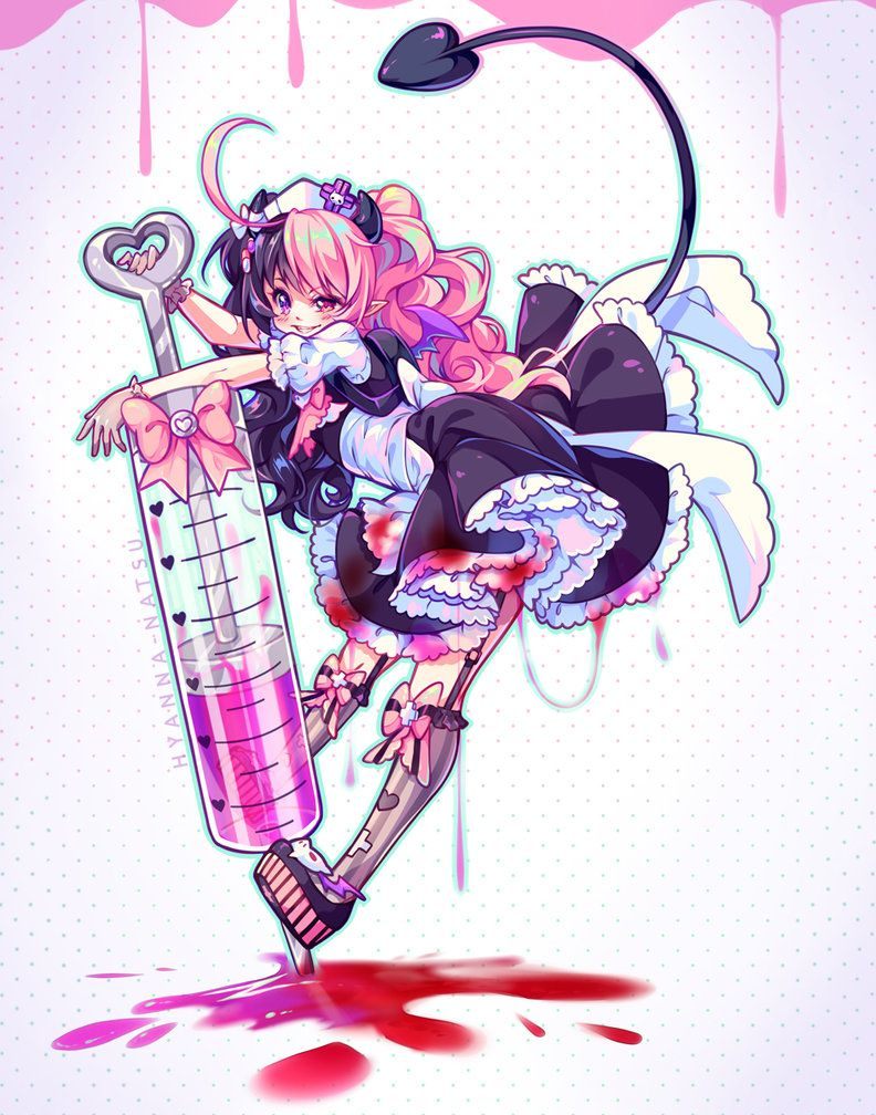 Commission a dose of crazy by hyannanatsu on deviantart drawing