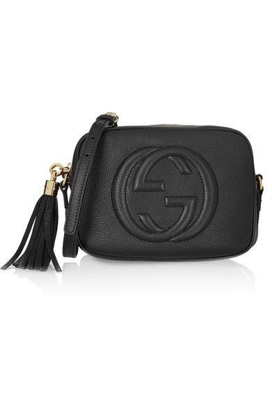 43f0e0b18842a GUCCI Soho Disco Textured-Leather Shoulder Bag.  gucci  bags  shoulder bags   leather
