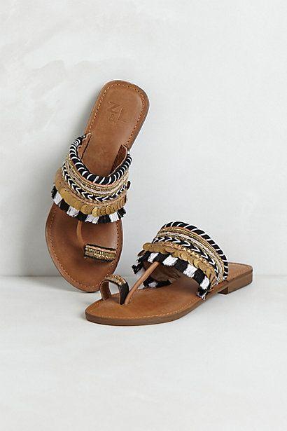 Sawai Sandals   #anthropologie