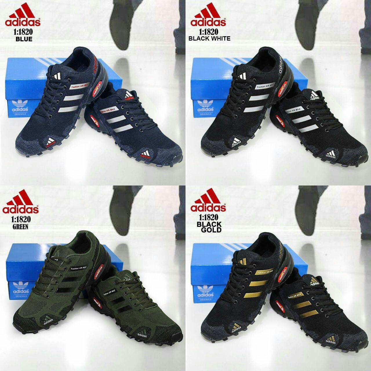 Sepatu Merek Adidas Seri 1820 Kualitas Semprem Tinggi Tumit 4cm