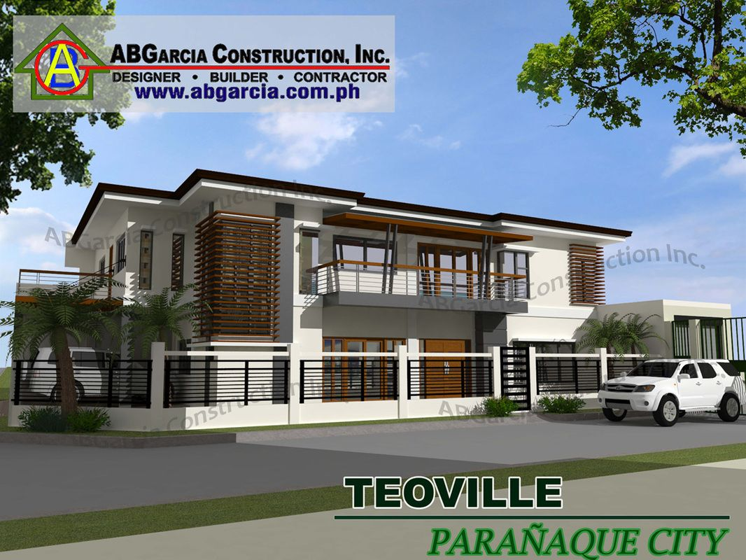 Ab Garcia Construction Inc New House Design Cool House Plans Pinterest Construction And House