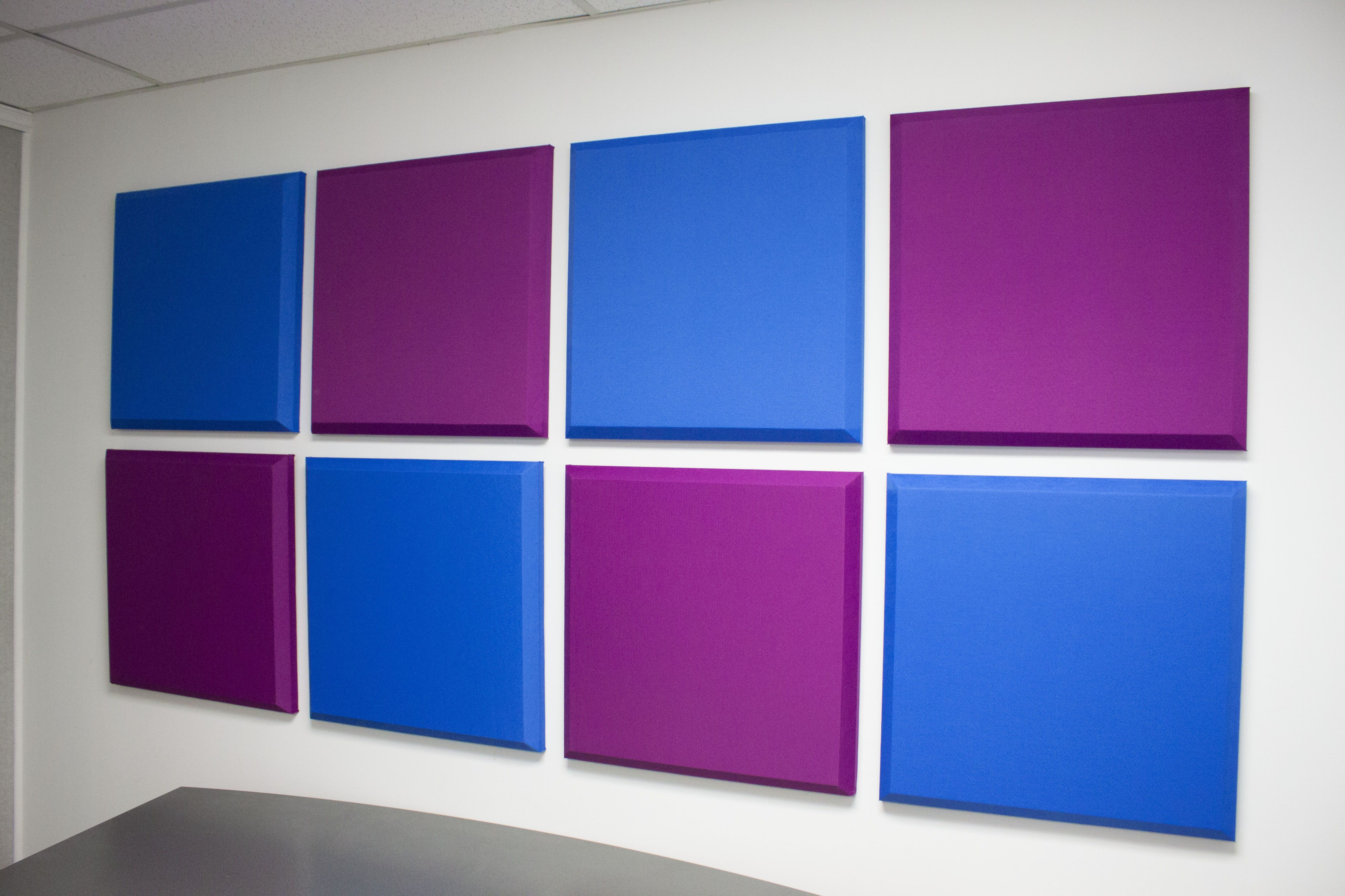 Here\'s an array of our Sonora® Acoustical Wall Panels installed on ...