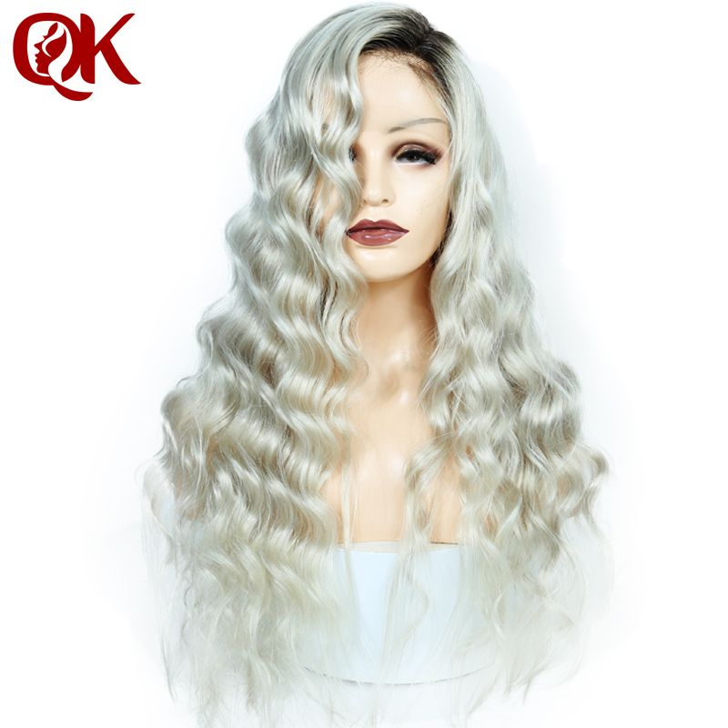 Queenking Hair 150 Density Ombre Kim Kardashian Human Hair Wig With
