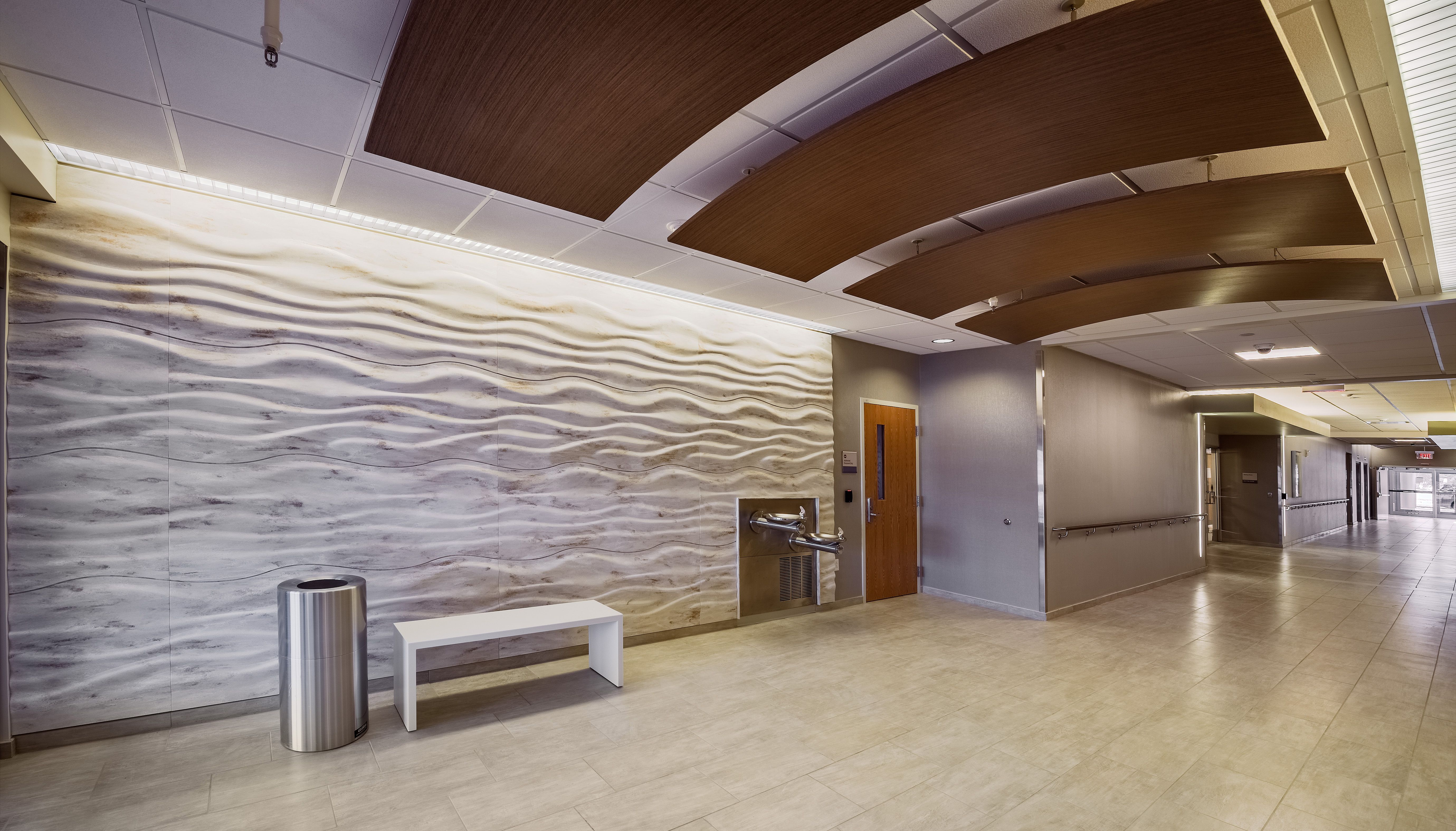 Sculptcor Is A Patented Thermoformed Architectural Wall Panel System That Takes Inspiration From Dive Wall Cladding Architectural Wall Panel Wall Panel System