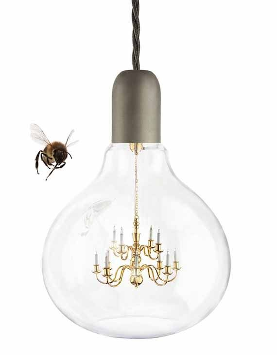 Young Battaglia Designed The King Edison A Light Bulb That Has Functional Mini Chandelier Inside You Can Your Very Own Fancy Chandelight